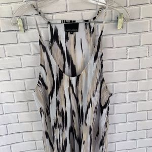 Cynthia Rowley Black White Cream Tank Top Size XL